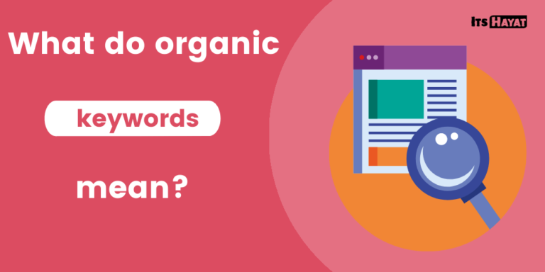 what do organic keywords mean