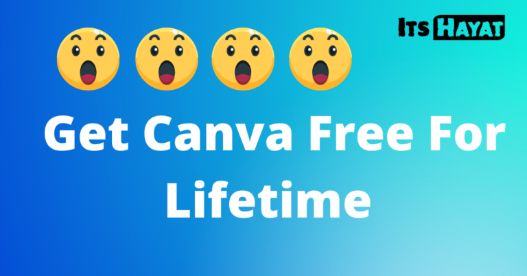 Get Canva Free For Lifetime